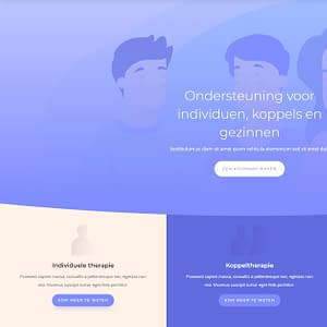 Website voor therapeuten