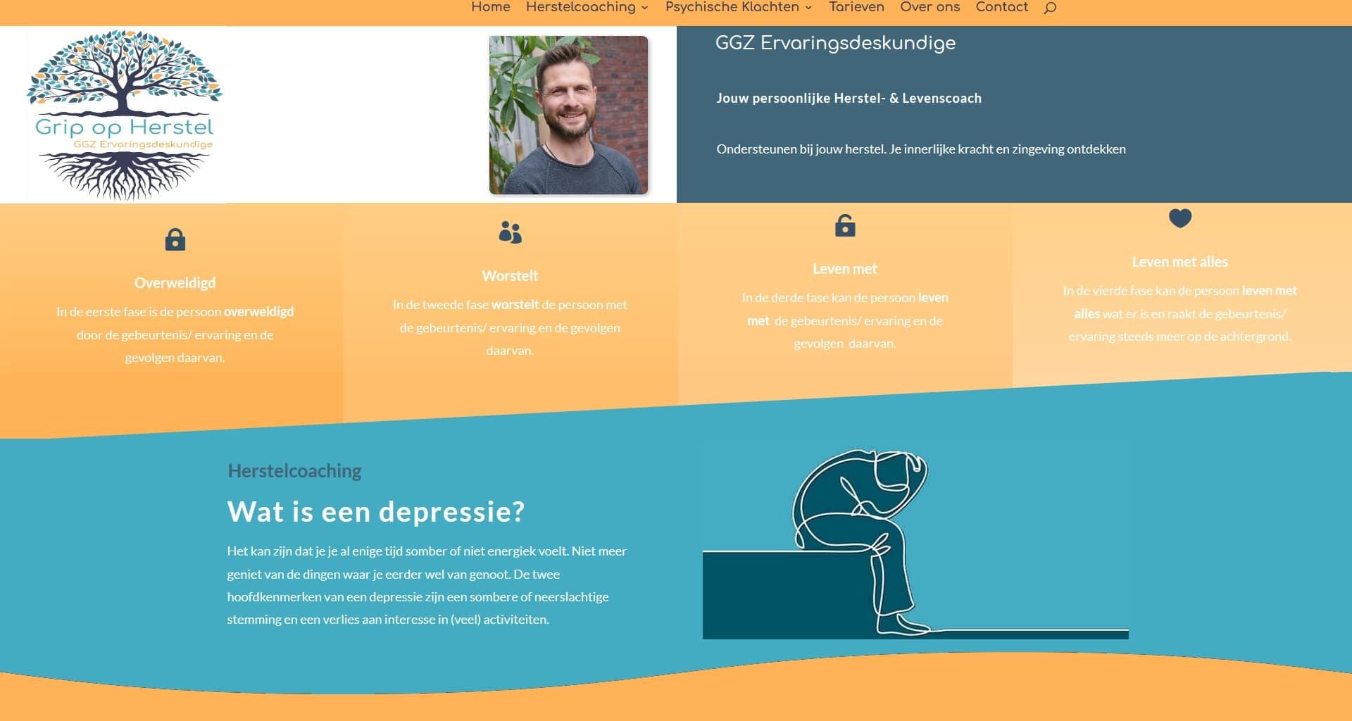 Wordpress website portfolio